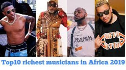 Forbes lists top 10 Richest musicians in Africa for 2018 ...  |African Musicians List
