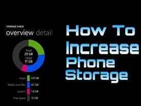 How to Increase Phone Storage