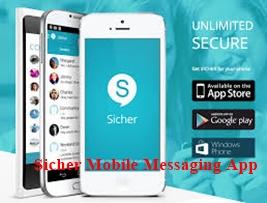 Sicher Mobile Messaging App