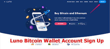 Luno Bitcoin Wallet Sign Up