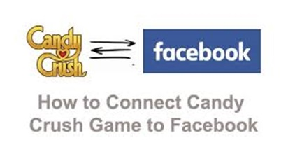 How to connect Candy Crush Game with Facebook Account