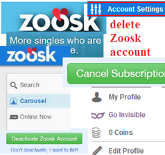 How To Delete Zoosk Account Permanently