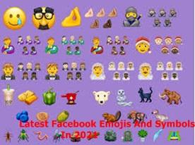 Latest Facebook Emojis And Symbols In 2021