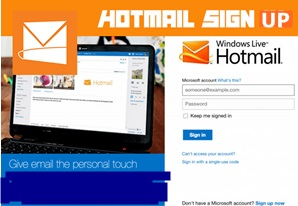 Hotmail Sign Up Page   Hotmail Login – Hotmail Account Set Up