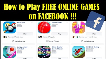 Facebook Games Online – How to Access Facebook Games Online | Online Games Play With Facebook Friends