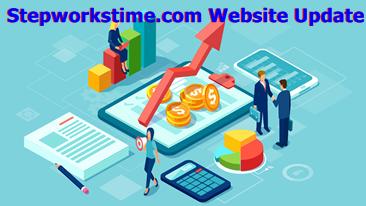 Stepworkstime.com Website Update