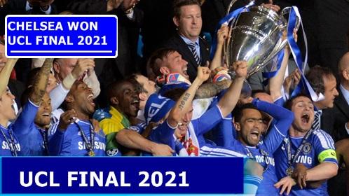 Chelsea Beat Man City to Won Champions League Final