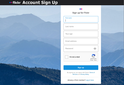 Flickr Account Sign Up For Flickr Web Account | Flickr Account Login – www.flickr.com