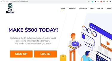 Its Dollar Account Sign Up-Another  Way of Making Money